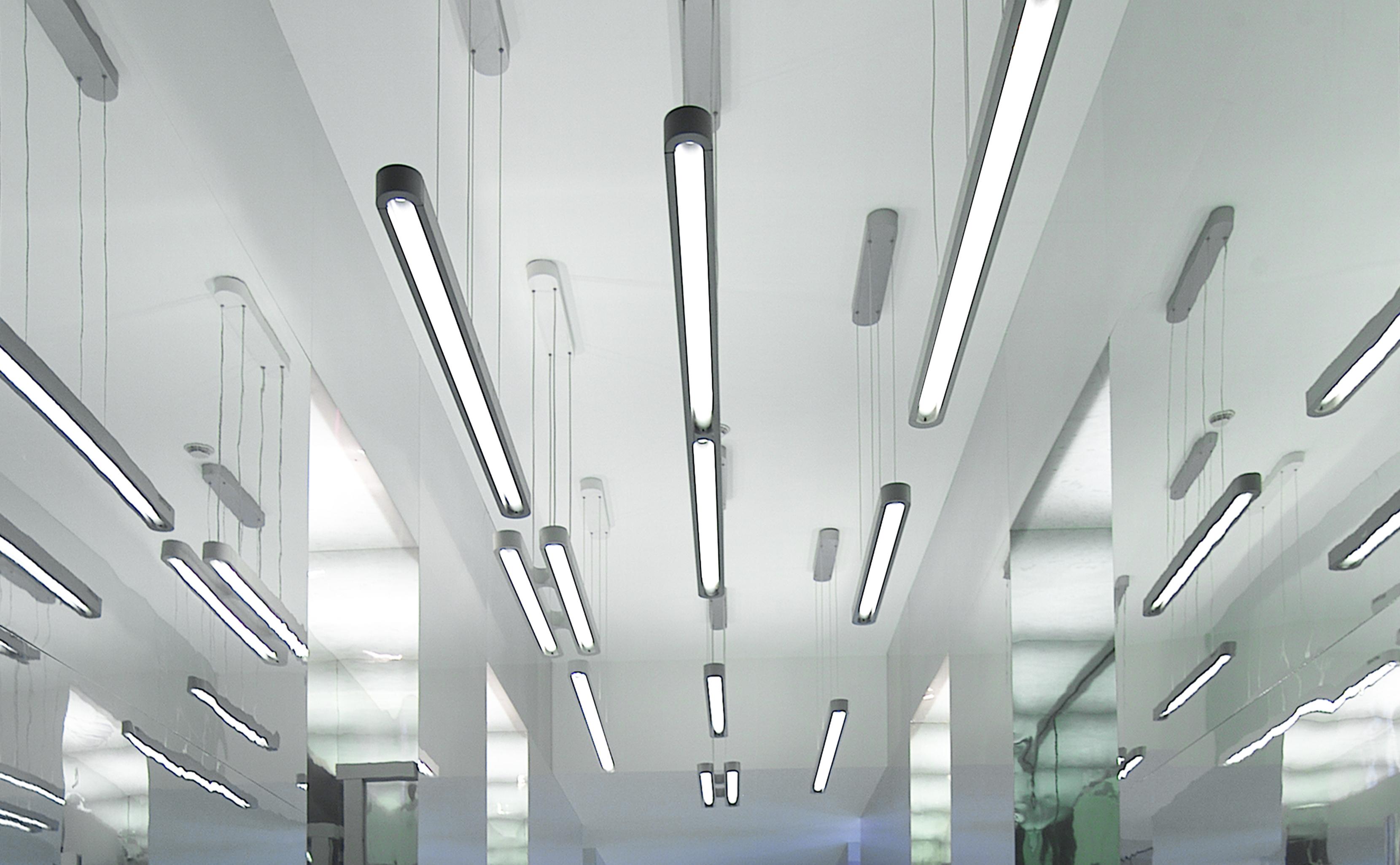 talo lighting range - artemide, 2001-2003