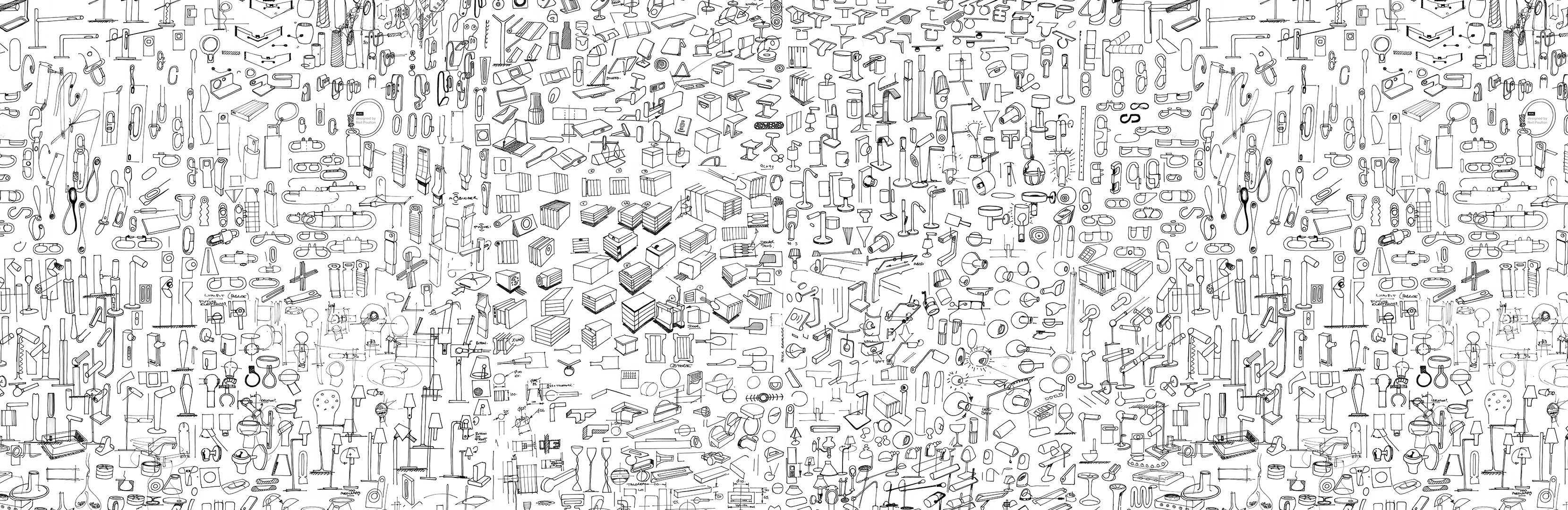 sketches wallpaper — nlxl